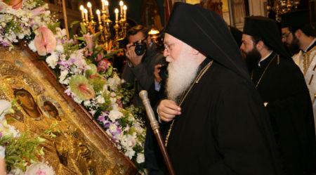 Η Παναγία Βηματάρισσα στον Ι.Ν. Αγίων Αναργύρων Ν. Ιωνίας