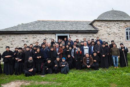 Επίσκεψη μαθητών της Αθωνιάδας Σχολής στη παλαιά Αθωνιάδα Ακαδημία