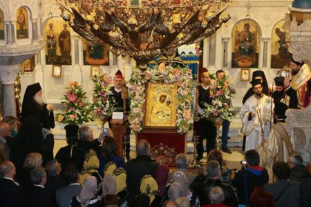 Υποδοχή της Παναγίας Βηματάρισσας στη Μητρόπολη Νέας Ιωνίας και Φιλαδελφείας