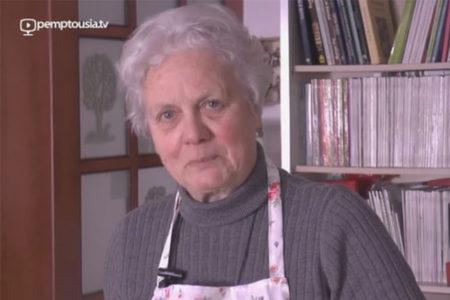 Η Καίτη Μαντζαρίδου προτείνει μανιταρόσουπα νηστήσιμη