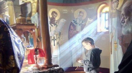 Αρχιερατική Προηγιασμένη Θεία Λειτουργία στην Ι. Μονή Θεοτόκου στο Κορωνάτο Κεφαλληνίας