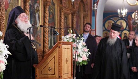 Η τελευταία ομιλία του Γέρ. Εφραίμ για τη Μ. Τεσσαρακοστή στον αγ. Γεώργιο Πανοράματος