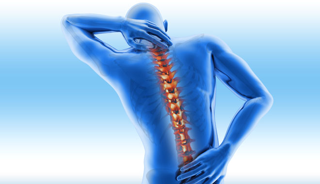 Spine pain - vertebrae trauma
