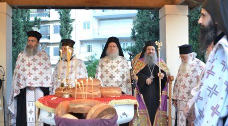 Η πανήγυρις της Αναλήψεως στο ιερό μετόχιο της Σιμωνόπετρας στον Βύρωνα