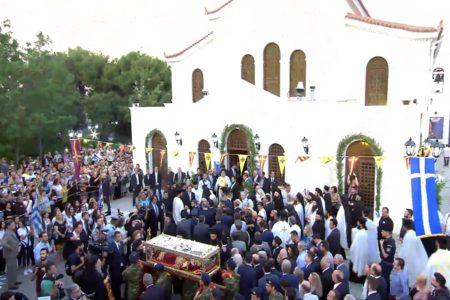Ζωντανή αναμετάδοση της Ιεράς Αγρυπνίας για την Απόδοση του Πάσχα από τον Ι. Ναό Αγ. Βαρβάρας