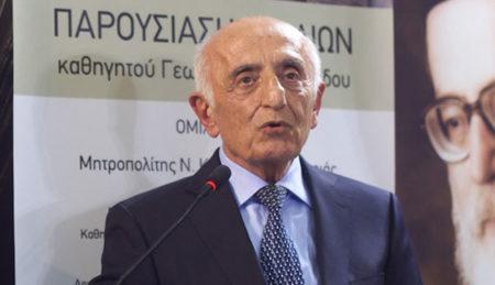 Γ. Μαντζαρίδης: «Ζούμε μια κατάσταση προωθημένης ακηδίας»