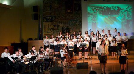Στιγμές από την εκδήλωση μνήμης και τιμής των Κυπρίων αγωνιστών