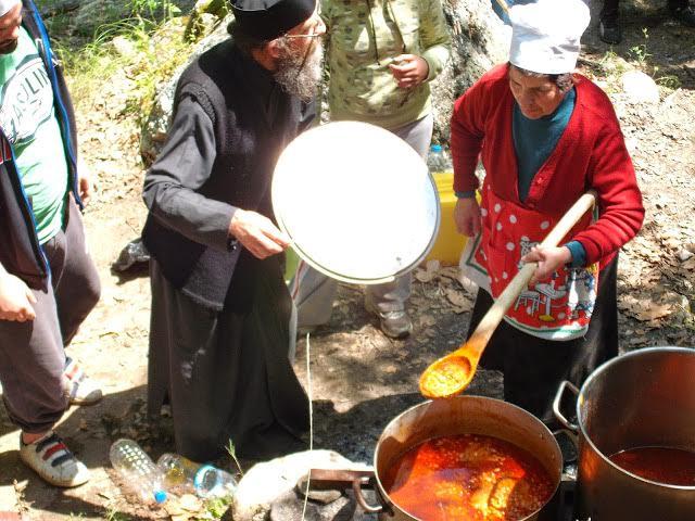 Λαμπρή πανήγυρη στην Μακεδονική φύση για έναν μεγάλο Όσιο