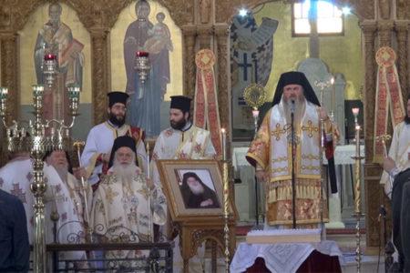 Τριετές Μνημόσυνο Γέρ. Μωυσή στη Μητρόπολη Ν. Κρήνης και Καλαμαριάς