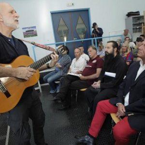 Μουσική «απόδραση» στην «Ιθάκη» του Καβάφη πρόσφερε στους έγκλειστους της φυλακής Κορυδαλλού ο Τζουζέπ Τέρο