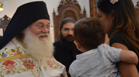Ο Γέροντας Εφραίμ στους εορτασμούς για τον Άγιο Βαρνάβα στην Κύπρο