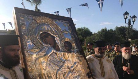 Εορτή του Απ. Παύλου στην Κόρινθο: Υποδοχή Παναγίας Παραμυθίας, Πολυαρχιερατικός Εσπερινός & Λιτανεία (28 Ιουνίου 2017)