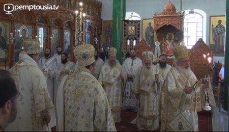 Ο εορτασμός του αγ. Νικοδήμου στον Πολύγυρο (2017)