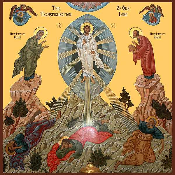 Αποτέλεσμα εικόνας για Μεταμόρφωση του Κυρίου