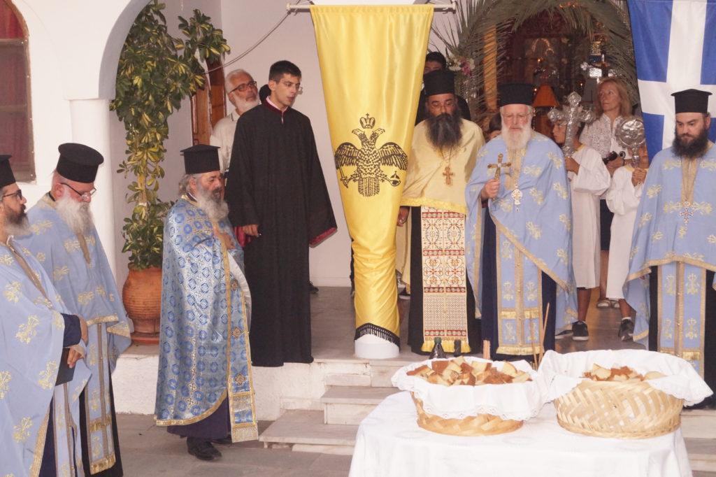 Η εορτή της Μεταμορφώσεως στην καρδιά του Βόρειου Aιγαίου