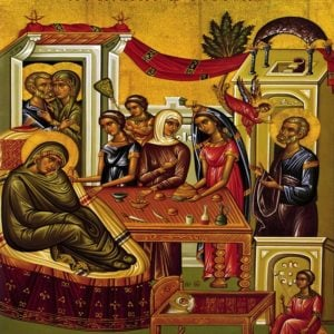 Εγκώμιον στη Γέννηση της Θεοτόκου