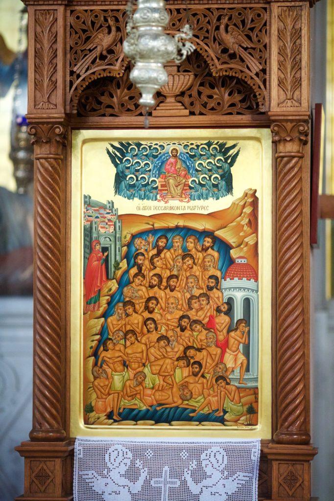 Άγιος Σιλουανός ο Αθωνίτης – Θεία Λειτουργία – Εγκαίνια του Μνημείου στο Γομάτι Χαλκιδικής