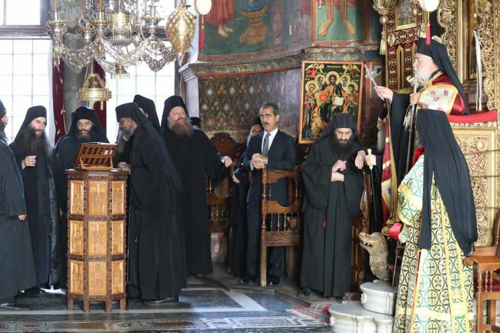 Πανήγυρη του Αγίου Ευδοκίμου στην Ι.Μ.Μ. Βατοπαιδίου (2017)