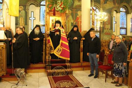 Πανηγυρικός Εσπερινός πρός τιμήν της Παναγίας Παραμυθίας στην Ορεστιάδα