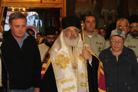 Υποδοχή της θαυματουργού εικόνας της Παναγίας Παραμυθίας στην Ορεστιάδα