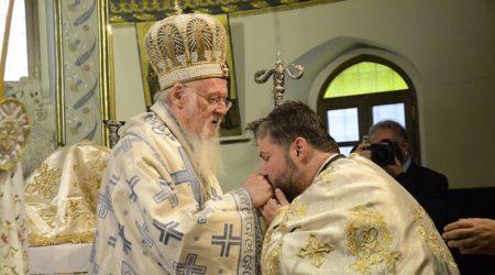 Εις Πρεσβύτερον χειροτονία του νέου Αρχιγραμματέα του Οικουμενικού Πατριαρχείου