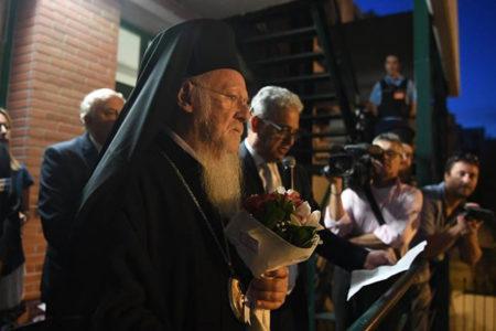 Υποδοχή Οικ. Πατριάρχη στην Ιμβριακή Ένωση για τα 90 χρόνια από την ίδρυση της