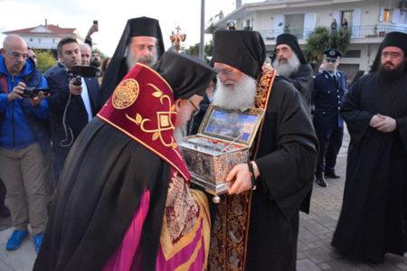 Για πρώτη φορά η Αγία Ζώνη στην Ι. Μ. Αιτωλίας και Ακαρνανίας