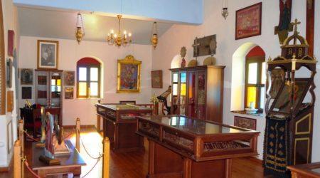 Εγκαίνια Ιερού Σκευοφυλακίου στον Ιερό Καθεδρ. Ναό Παναγίας Κεχαριτωμένης, Χώρας Καλύμνου