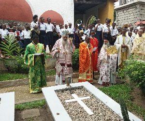 Εορτή αγ. Ανδρέου και εγκατάσταση Πατριαρχικού Επιτρόπου στην Κανάγκα (Κογκό)