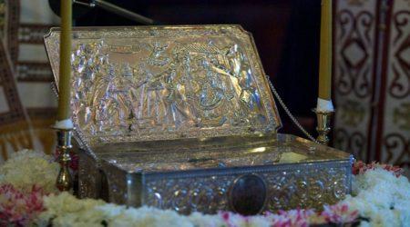 Υποδοχή των Τιμίων Δώρων των Μάγων απο την Ι.Μ.Αγίου Παύλου στην 350 Πτέρυγα Κατευθυνόμενων Βλημάτων 19-12-2017