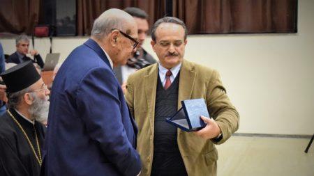 Το Τμ. Θεολογίας ΑΠΘ τιμά τον Άρχοντα Πρωτοψάλτη κ. Χαρίλαο Ταλιαδώρο