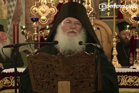«Η παρουσία της Τιμίας Ζώνης της Θεοτόκου θα γίνει πρόξενος μεγάλης πνευματικής ωφέλειας»