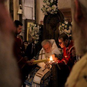 Επέτειος ενθρονίσεως Πατριάρχου Γεωργίας Ηλιού Β΄