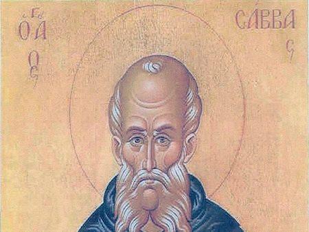 Άγιος Σάββας ο Ηγιασμένος, ένας μεγάλος ασκητής