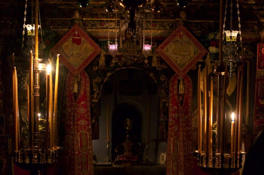 Πανηγυρική αγρυπνία στο Ιβηρίτικο Κελλί Αγίας Άννης, με το Μητρ. Κυρηνείας Χρυσόστομο & το γέρ. Αντύπα