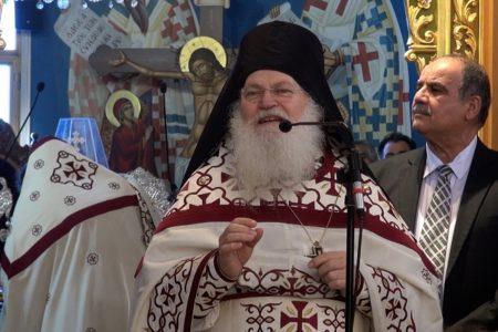 Ομιλία Γέροντος Εφραίμ στον Ιερό Ναό Παναγίας Φανερωμένης Λάρνακας