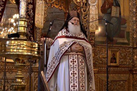 Ομιλία του Γέροντα Εφραίμ στον Ι. Ν. Παναγίας Χρυσοπολίτισσας Λάρνακας