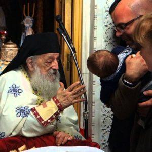 O Γέροντας Νεκτάριος της Καμάριζας, ευχέτης μας προς Κύριον