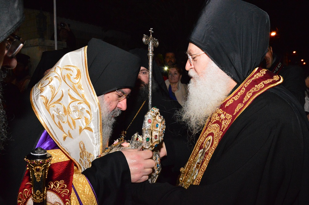 Υποδοχή της Τιμίας Κάρας του Αγ. Ιωάννου του Χρυσοστόμου στη Μητρόπολη Λεμεσού