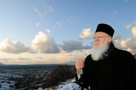 Ο Πατριάρχης στην Ίμβρο
