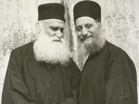 Παπα-Εφραίμ Κατουνακιώτης και Γέρων Αιμιλιανός Σιμωνοπετρίτης