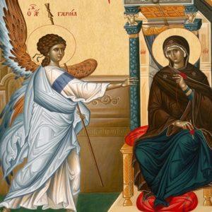 Το μεγάλο γεγονός του Ευαγγελισμού και η ελευθερία της Θεοτόκου