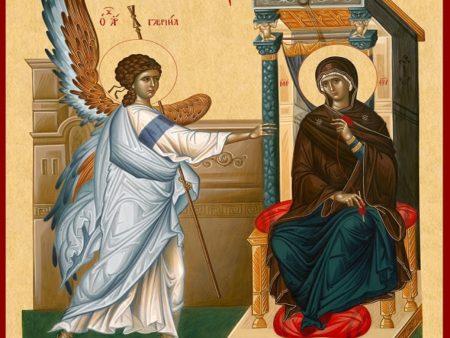 Καταβασίες της εορτής του Ευαγγελισμού της Θεοτόκου – Θ. Βασιλικός