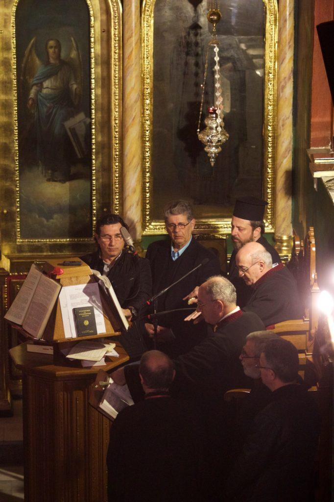 Ομιλία του Γέροντος Ελισαίου Ηγουμένου της Σιμωνόπετρας στην Μητροπόπολη Νέας Κρήνης και Καλαμαριάς