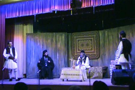 Θεατρική παράσταση «Η έξοδος του Μεσολογγίου»