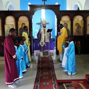 Η εορτή του Ευαγγελισμού της Θεοτόκου στον Ι.Ν. Αγίας Φωτεινής Pointe-Noire