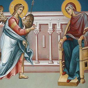 Η εικόνα του Ευαγγελισμού της Θεοτόκου