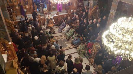 Η Ακολουθία του Ιερού Νιπτήρα στον Ι.Ν. Αγίου Ελευθερίου Αμαρουσίου