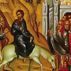 Στην αγία εορτή των Βαΐων