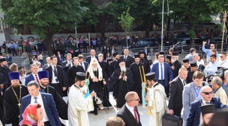 Άφιξη του Πατριάρχη Μόσχας κ.κ. Κυρίλλου στην Αλβανία και τέλεση Δοξολογίας στον Ι.Ν. Αναστάσεως στα Τίρανα